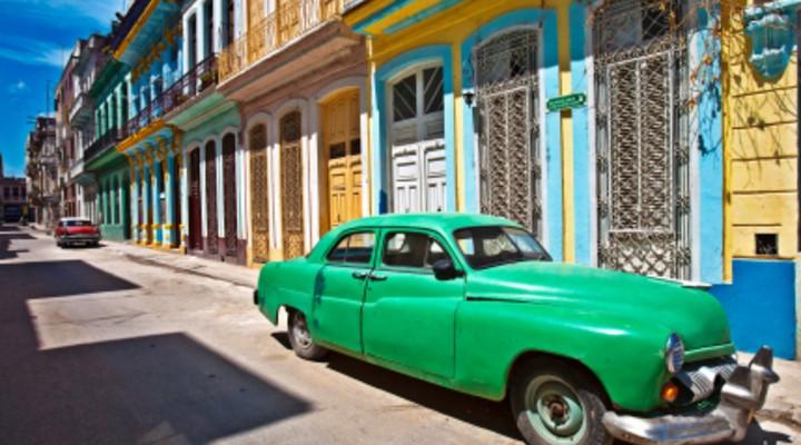 De wijk Havana Vieja