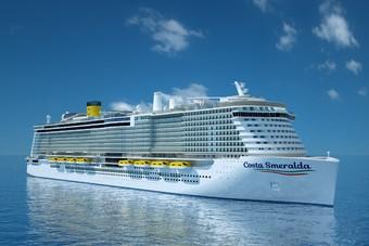 Nieuw schip Costa Cruises vaart vanaf oktober 2020