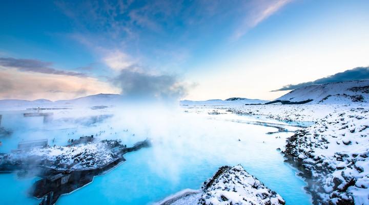 Blue Lagoon, heetwaterbron in IJsland