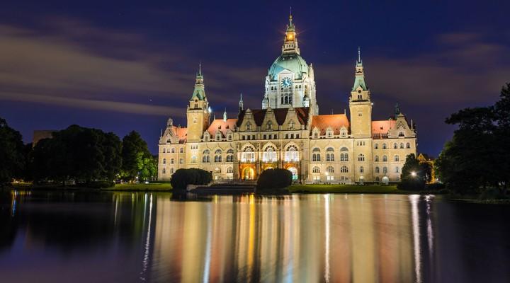 Stadhuis van Hannover, Duitsland, Nedersaksen