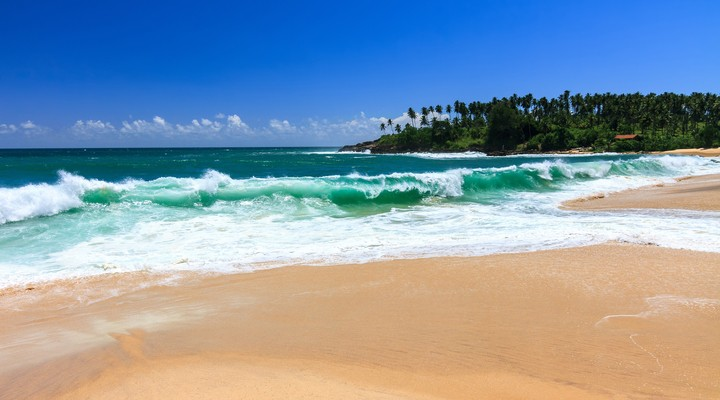 Sri Lanka heeft prachtige zandstranden