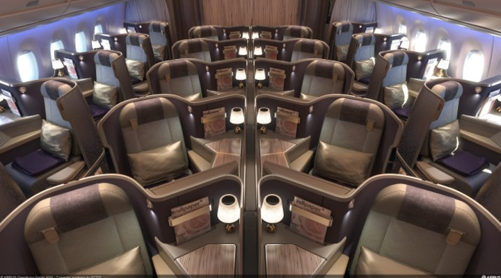 Business Class A350 China Airlines