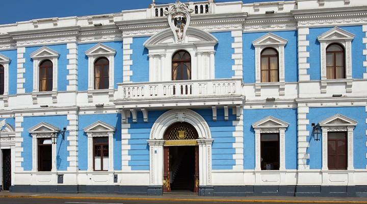 Gebouw Plaza de Armas, Trujillo