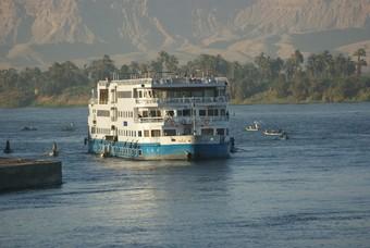 Nijlcruise Egypte boot