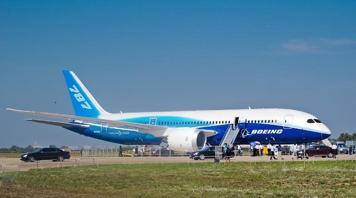 De Dreamliner van Boeing