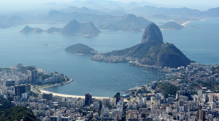 De Braziliaanse stad Rio de Janeiro