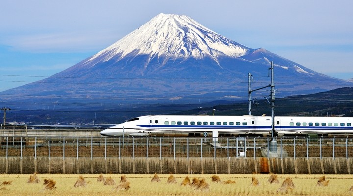 Bij Djoser Junior reis je met de Shinkansen