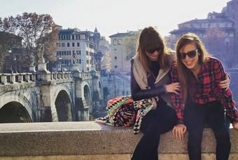 Desiree geniet van haar leven in Rome