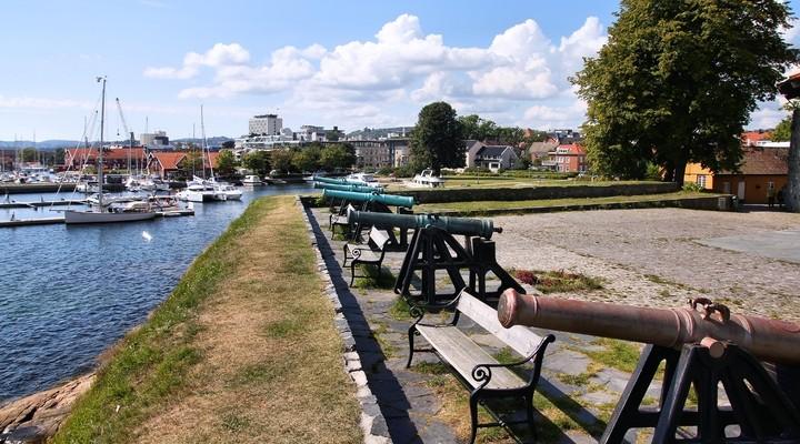 Kanonnen Kristiansand, Noorwegen