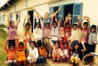Vrijwilligerswerk doen in Cambodja
