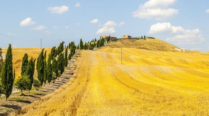 Crete Senesi., landschap Siena