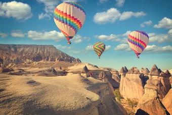 Ballonvaart boven Cappadocië