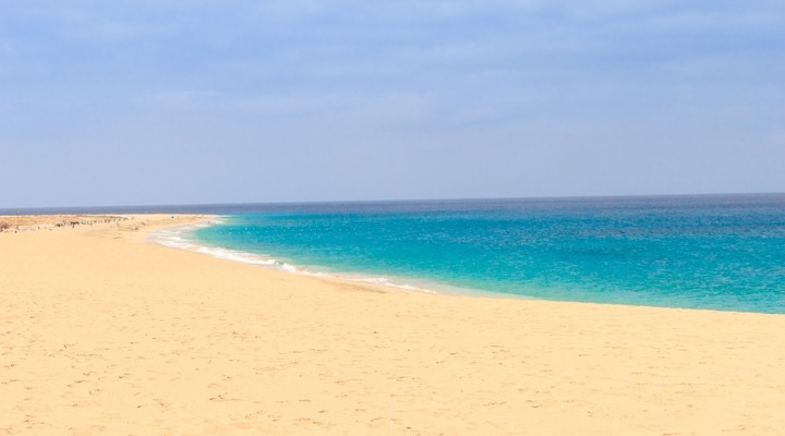 Strand van Kaapverdië