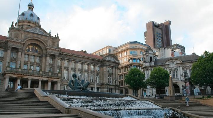 Victoria Square Raadhuis Birmingham