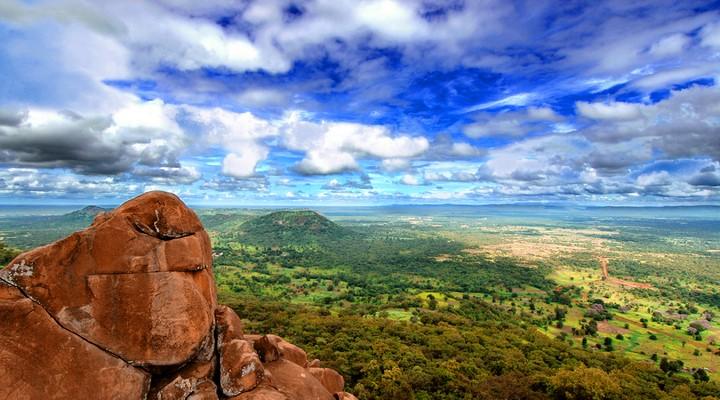 Uitzicht over Niokolo-Koba National Park
