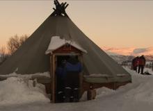Sledehondentocht Tromsø