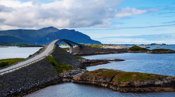 Atlantic Road in Noorwegen