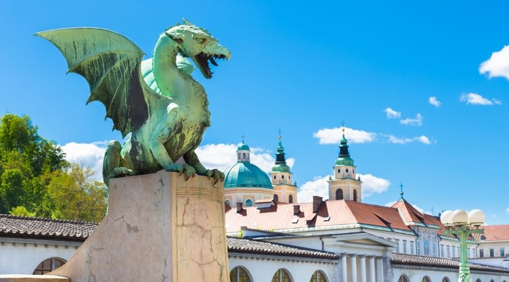 De draak van Ljubljana