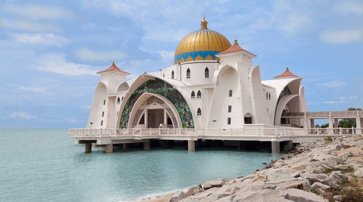 De Malakka Moskee in Melaka