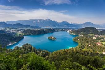 Bled meer in Slovenië