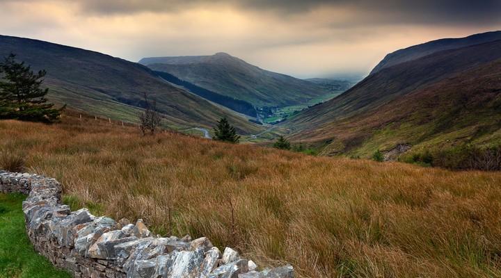 Glengesh Pass, Donegal, Ierland