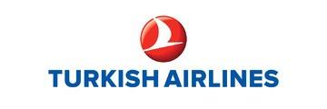 Logo van Turkish Airlines