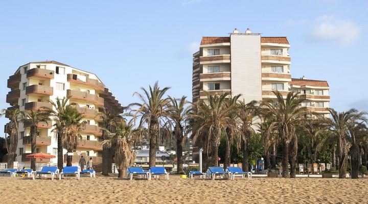 Strand van Santa Susanna