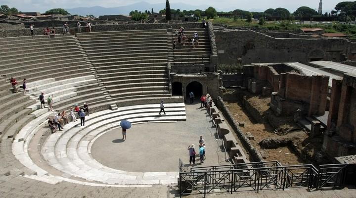 Teatro Grande in Pompeï