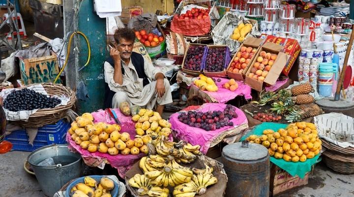 Markt in Rawalpindi, Pakistan
