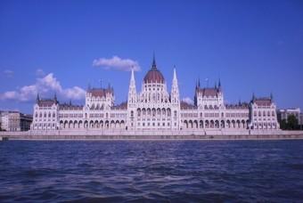 Boedapest aan de Donau, hoofdstad Hongarije