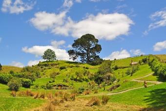 Het leefgebied van de Hobbits