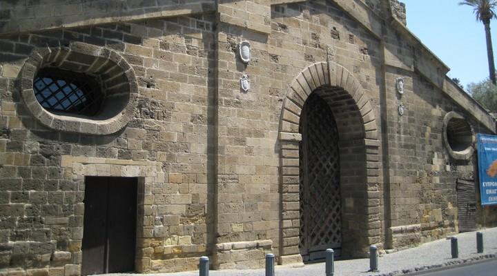 Stadsmuur Nicosia, hoofdstad Cyprus