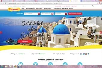 Website van Sunweb is vernieuwd