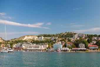 De Zwarte Zee kust van Bulgarije