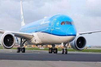 Nieuwe Dreamliner van KLM heet 'Tulp'