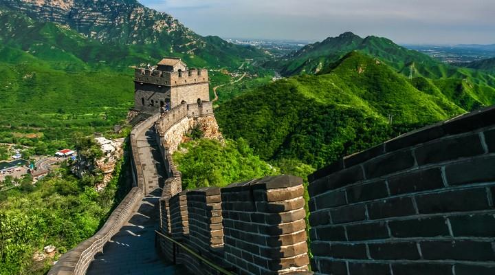 Chinese muur Peking