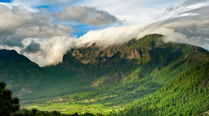 Berglandschap La Palma - Spanje