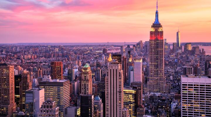 Uitzicht op New York
