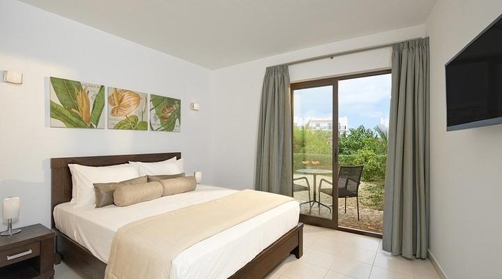 Slaapkamer van Tweekamersuite