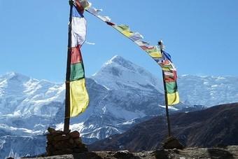 Wandeltocht in Nepal