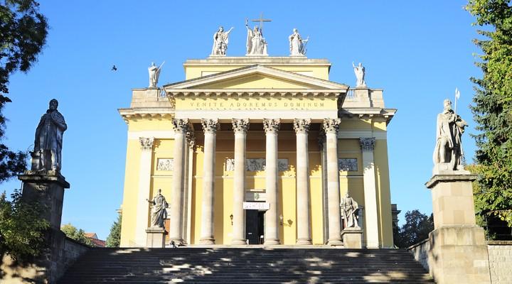 Kerk in Eger, Hongarije