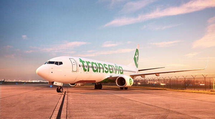 Vliegtuig van Transavia
