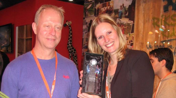 Riksja Travel met de Reisgraag-award