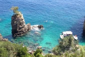 Tot rust komen op het mooie Corfu