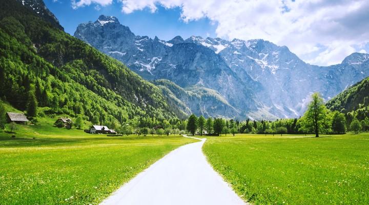 Slovenië heeft prachtige, bergachtige gebieden
