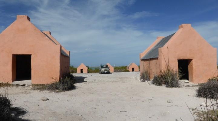 Zoutvlaktes en zoutpannen op Bonaire
