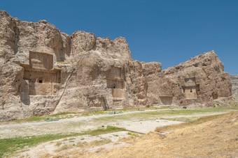 Historische site Naqsh-e Rustam, Iran
