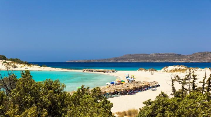 Simos Beach op Elafonisos