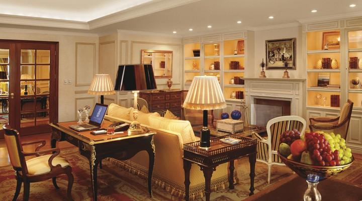 Suite Ritz-Carlton Santiago, luxe hotel