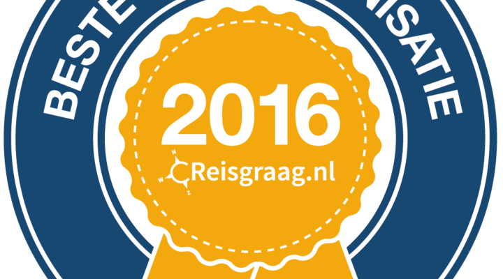 Beste reisorganisatie 2016